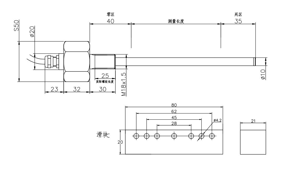 紧凑型位移传感器